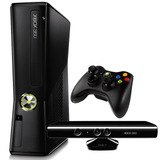 Console Xbox 360 Super Slim Kinect Desbloqueado Aceita Cd