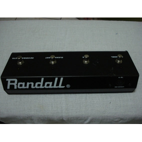 ** Pedal Randall Rf4g3 4 Botões **