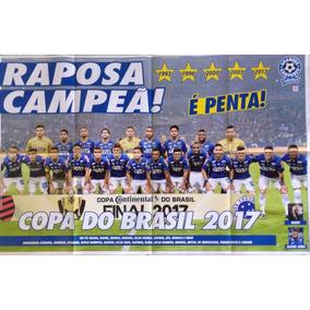 Pôster Cruzeiro Campeão Copa Do Brasil (2017) 55 Cm 85