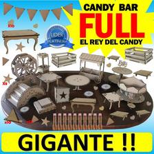 Candy Bar Full Combo Madera Mdf Candybar Gi G A N T E !!!