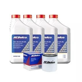 Kit Troca De Óleo 5w30 100% Sintetico Acdelco + Filtro