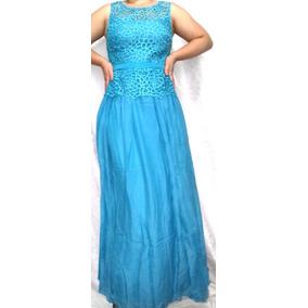 Mercado livre vestido longo azul turquesa