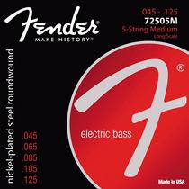 Encordoamento 045 Contra Baixo 5 Cordas Fender 72505m Usa