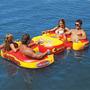 Ilha Flutuante Inflável Sportsstuff 4 Pessoas Piscina Lago