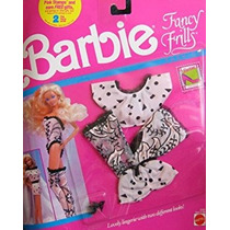 Juguete Barbie Fancy Frills Fashions Ropa Xxx (1990)