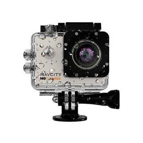 Câmera Navcity Ng-100 Plus 4k Prata 16mp + Prova D