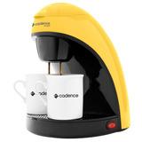 Cafeteira Single Colors Cadence Caf114 450w Amarela 220v