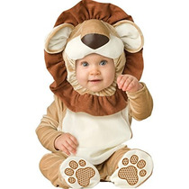 Disfraz Para Niña Traje De León Adorable Bebé Incharacter