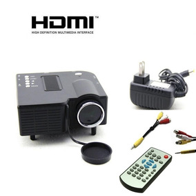 Mini Projetor Portatil Led Data Show Hdmi Multimidia Filme