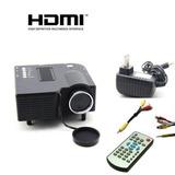 Mini Projetor Portatil Led Data Show Hdmi Multimidia Filme