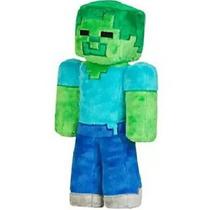 Boneco Pelúcia Minecraft, Herobrine, Steve, Zombie, Creeper