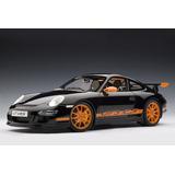 Porsche 911 (997) Gt3 Rs A Escala 1:12 Negro