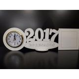 Souvenir Reloj Portaretrato 10x10 Egresados 2017 Originales