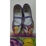 Zapatos Zapatillas De Niña Princesas Hadas Disney Talla 28