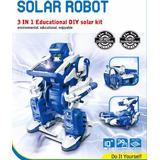 Robotica Juguetes Educativo Robot Solar Transformers 3 En 1