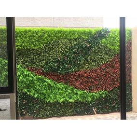 Placa para muro verde follaje en mercado libre m xico for Follaje para jardin