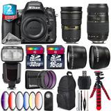 Nikon D610 Dslr + Afs 24-70mm 2.8g + Tamron 70-300mm