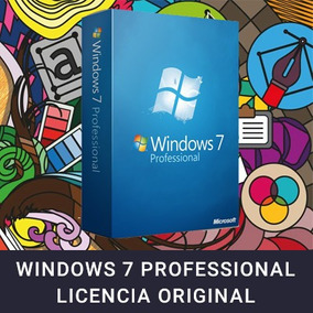 Licencia Windows 7 Professional Nueva Original Oferta