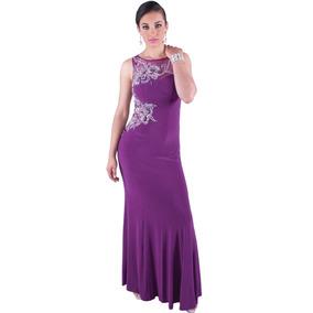 Vestido Fiesta Largo De Noche Tg 81679- Precio Especial !!!