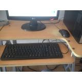 Pc De Mesa Con Monitor De 17 Pulgadas Lg Teclado Y Camara De