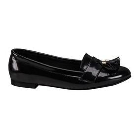 Zapatos Flats Dama Charol Confort Nueva Temporada C