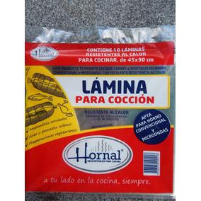 Lote 10 Paquetes Laminas Para Horno 45 X 90 Cm