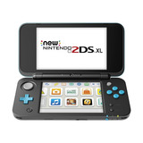Consola Portable 2ds Xl, Color Negro/turquesa - Nintendo