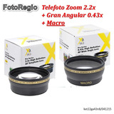 Kit Lentes Hd Para 52mm Nikon D7000 D7100 D7200 18-55mm