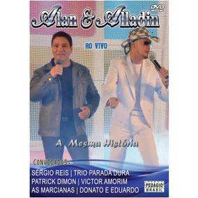 Dvd Alan & Aladin - Ao Vivo +cd Alan E Aladim Traidora