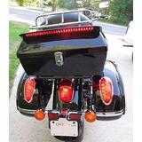 Moto Duro Tronco Casos Cola Caja Equipaje Para Suzuki Con