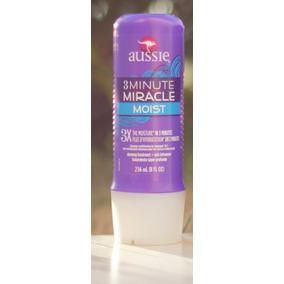 Kit 10 Aussie Máscara Creme 3 Minute Miracle Moist 236ml