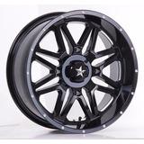 Rin 16x7.0 4-156 M Et00 M26-vibe Milled Gloss Black