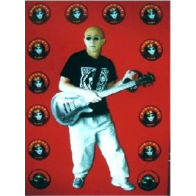 Poster Indio Guitarra Patricio Rey 35 X 50 ( Big Bang Rock)