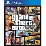Juego Gta 5 -- Ps4 Gtav Fisico -- Grand Theft Auto