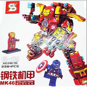 Hulkbuster Mk46 Ironman Lego Homem Ferro Capitão Améric Br38
