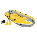 Balsa Inflable Con Remos Bw-61068