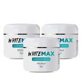 Clareador Dental 3 Potes 100% Natural White Max