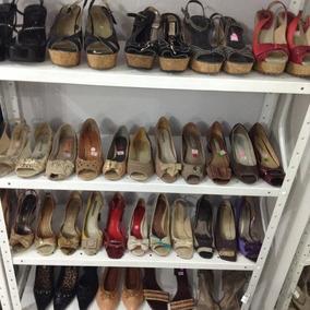 4d6ae7245ed Lote  Sapatos De Saltos Usados Para Brechó ( 20 Pares)