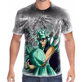Camisa Camiseta Cavaleiros Dos Zodiaco Shiryu