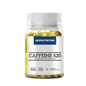 Termogenico Cafeína Newnutrition 420mg 60 Caps