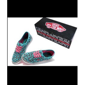 Tênis Vans Authentic Leopard Blue (original)