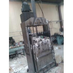 Prensa Compactadora Hidraulica Papel, Carton, Pet, Textiles