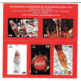Folder Coca Cola, Telemar Pe (sem Os Cartões)