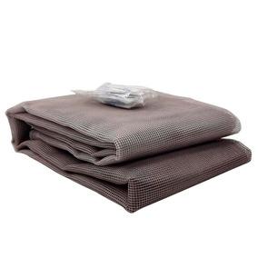 Tela Mosquiteiro Com Velcro Para Janela 1,25x2,25 Metros