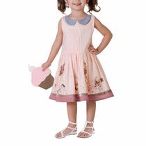 Vestido Casual Para Niña 1 A 3x Años Ad9416