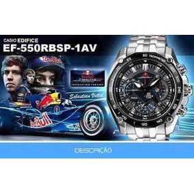 Relógio Casio Edifice 550rbsp Promoção Top Redbull Top