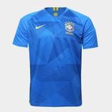 Camisa Seleção Brasil Ii 2018 S/n° - Torcedor Masculina