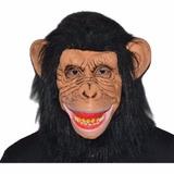 Mascara De Mono Chimpance Comprada En Ee Uu Latex Disfraz