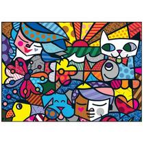 Quebra Cabeça Puzzle 5000pç Romero Britto Britto