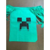 Souvenir Minecraft Capas Disfraz Cumpleaños Infantiles